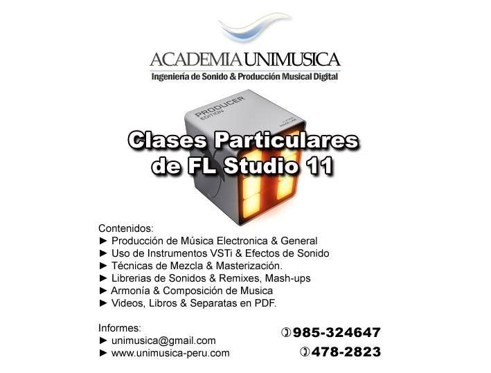 Clases Particulares de FL Studio | Teléfonos: 985-324647 , 478-2823 ,