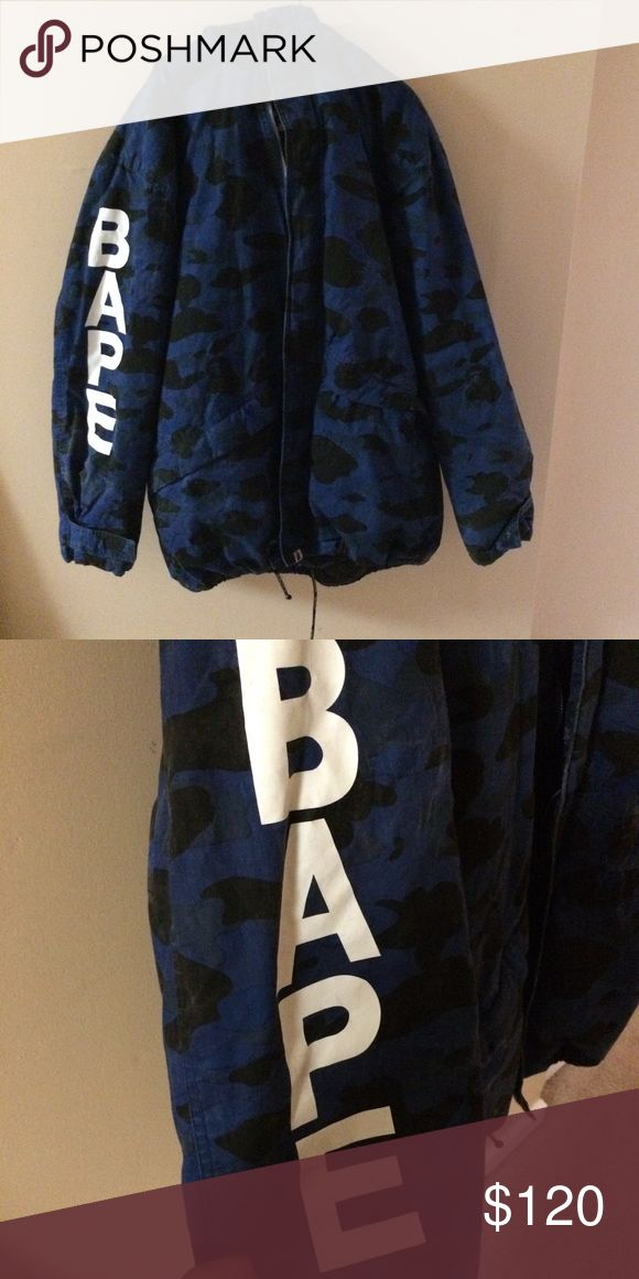 Vintage Bape Jacket 6/10 but still nice. 4XL. Need gone asap Bape Jackets & Coats Puffers