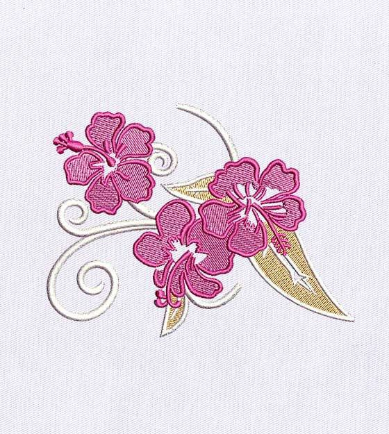 Another Spectacular Free Embroidery Design!!!  This time Cherry Blossom Flower embroidery Design is free of cost for all of our Customers.