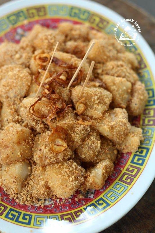Nasi Lemak Lover: Muah Chee (peanuts glutinous rice balls) 麻芝 - Penang style