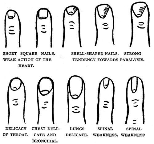 palmistry - what your nails and fingers say about you