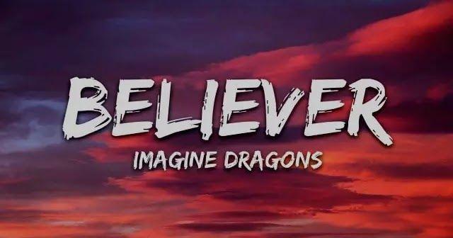 Believer Lyrics Imagine Dragons Imagine Dragons Lyrics Imagine Dragons Songs Believer Imagine Dragons Lyrics