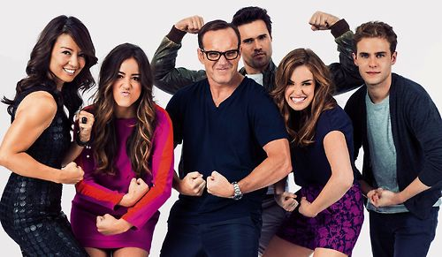 Agents of S.H.I.E.L.D. I am completely ready to love this show.
