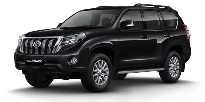 Could you Guess it right? #Toyota Landcruiser #Prado. A 3 liter Diesel engine pumping 173 PS power. Everything you can ask for in a SUV.