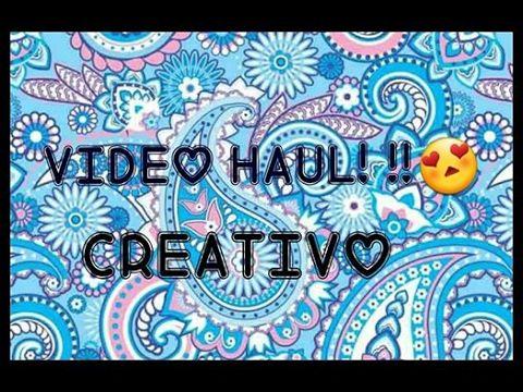 VIDEO HAUL CREATIVO BRICOTUTTO