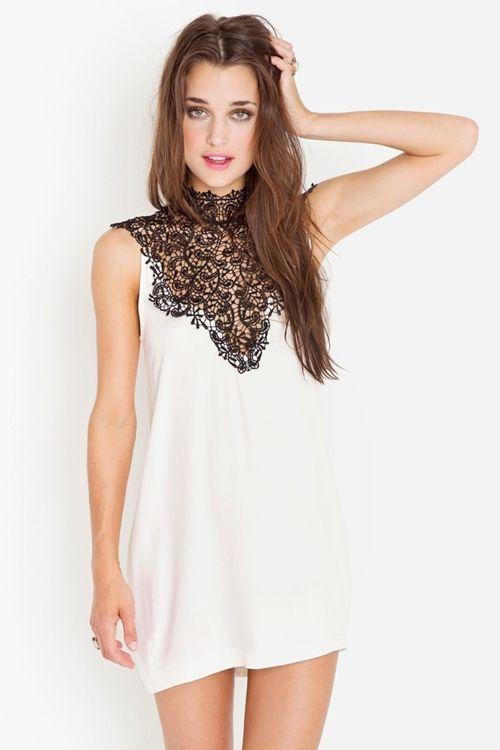 beautiful necked nasty gal dress