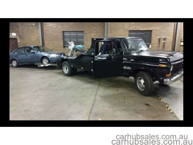 Tow Truck for sale with work - UNDER LIFT - FORD F350 Trucksales biznessforsale.com.au %u2013 Car Hub Sales