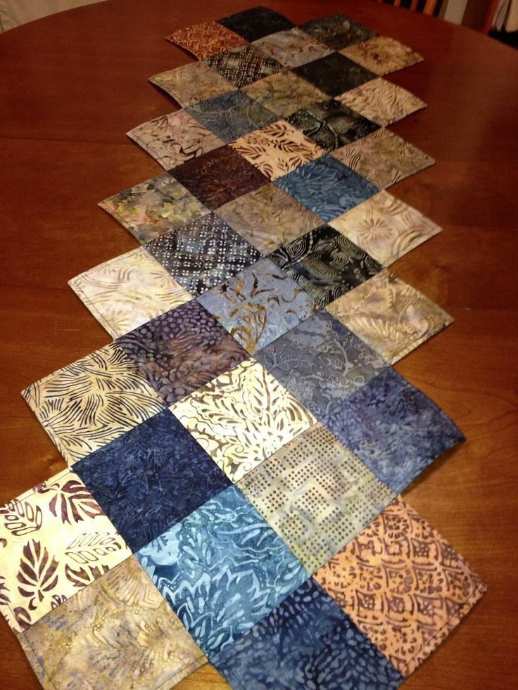 Free Quilt Patterns Table Runners Download : 17 basta ideer om Table Runner Pattern pa Pinterest Table runners