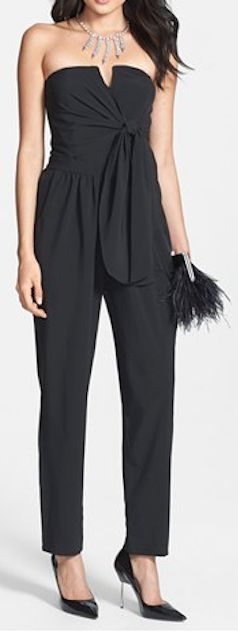 tie front strapless jumpsuit  http://rstyle.me/n/fguxupdpe