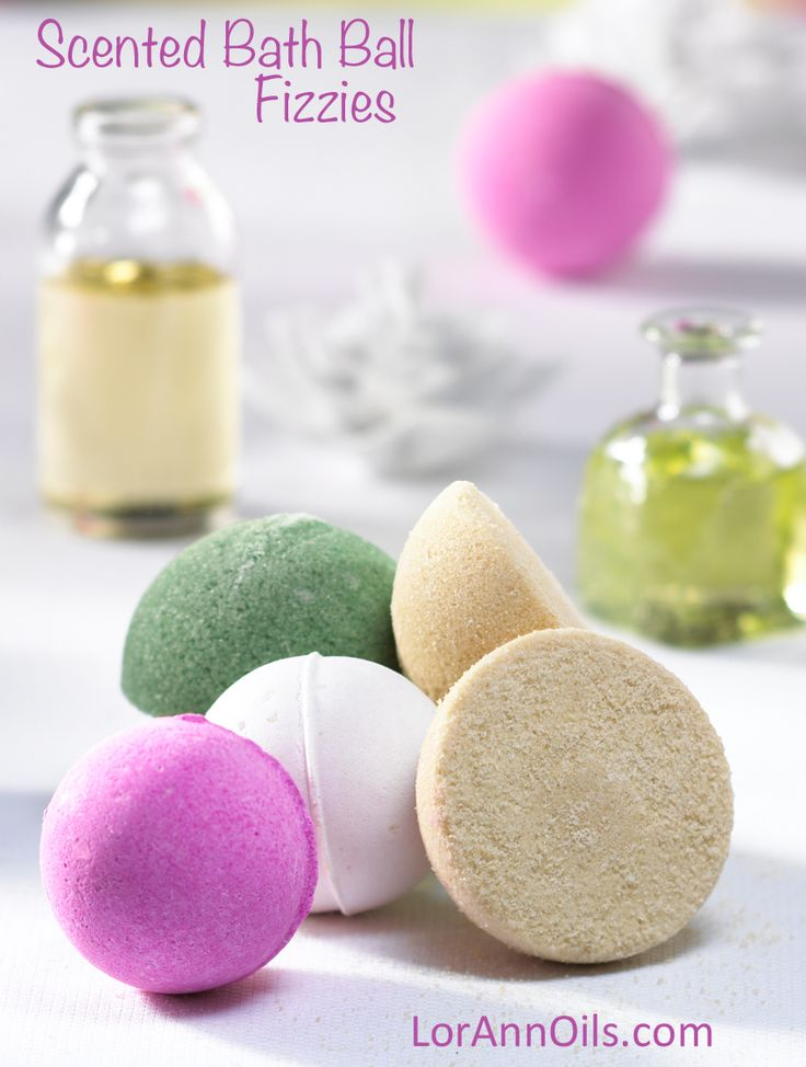 LorAnn Oils | Scented Bath Ball Fizzies