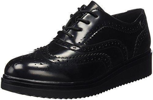 Oferta: 46.95€ Dto: -35%. Comprar Ofertas de XTI Sra. C, Zapatos de Cordones Oxford para Mujer, Negro (Negro), 41 EU barato. ¡Mira las ofertas!