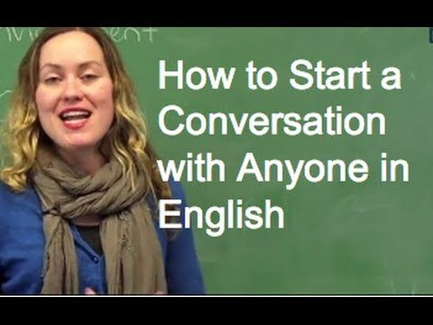 Don't be Shy! How to Start a Conversation with Anyone - ESL Lesson from ...