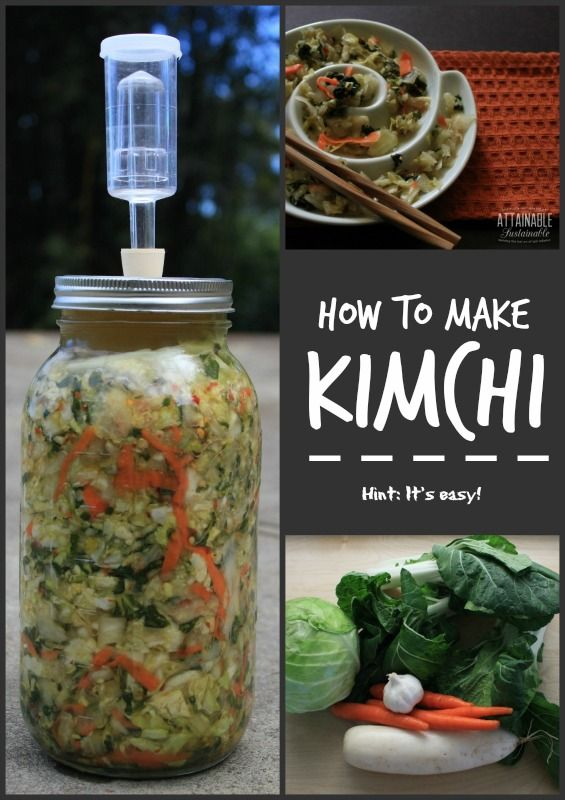 Making kimchi is incredibly easy - just a matter of chopping veggies, really. But this fermented veggie mix is so good for you!