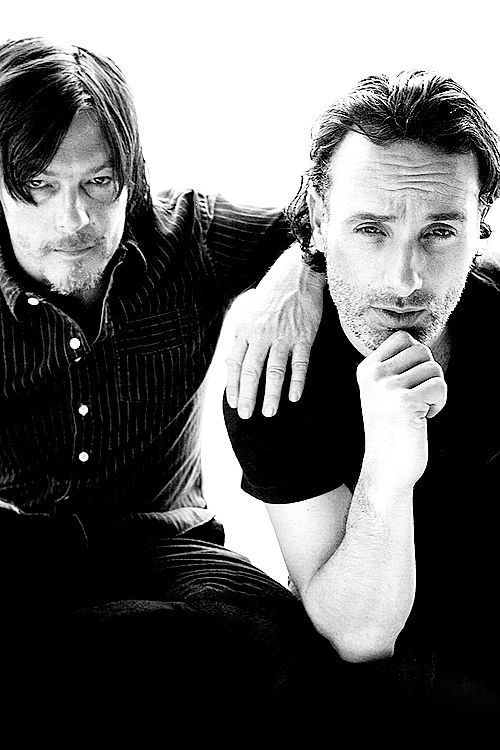 The Walking Dead's bromance: Daryl & Rick | moviepilot.com
