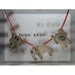 spin elephant necklace