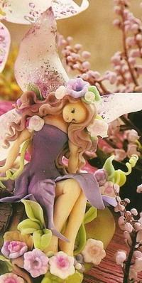 How to Make Fondant Fairy