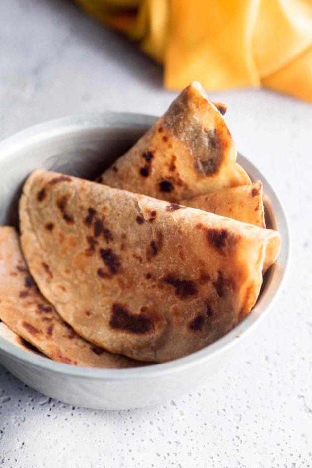 Chapati-leivät