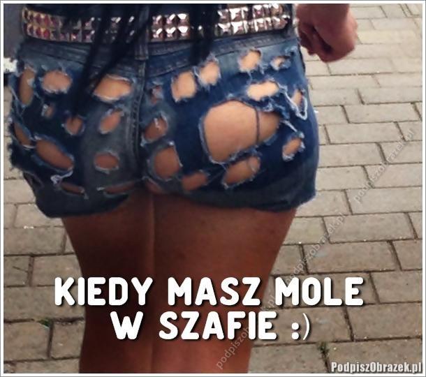 Kiedy masz mole w szafie - śmieszne obrazki na Podpiszobrazek.pl