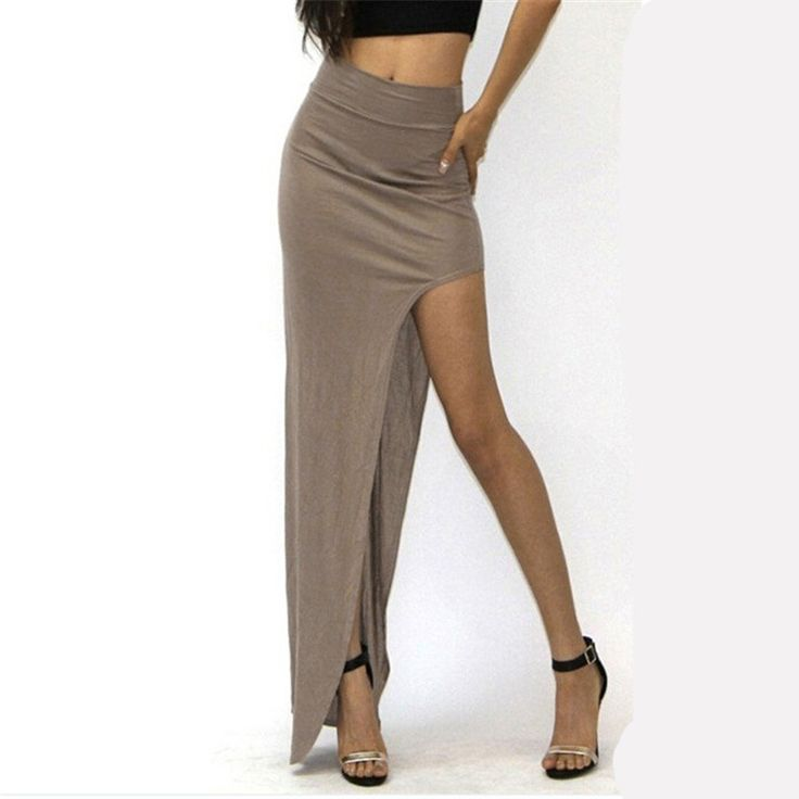 Women's Open Side Split Skirt //EVERYTHING for $10.00 or less storewide & FREE Shipping //     #womensclothing I #womensfashion