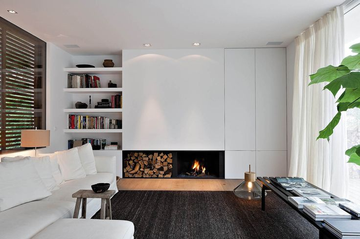 LIVING AREA+TV WALL+++BOOK SHELF  OSCAR V - Exclusieve Villabouw - Renovatie