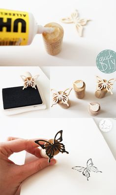 quick DIY stamp
