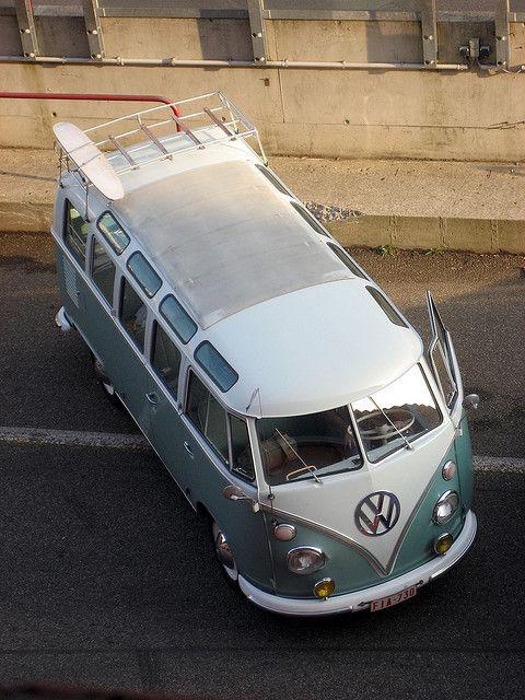 VW Type 2 T1 Camper Van, via Flickr.