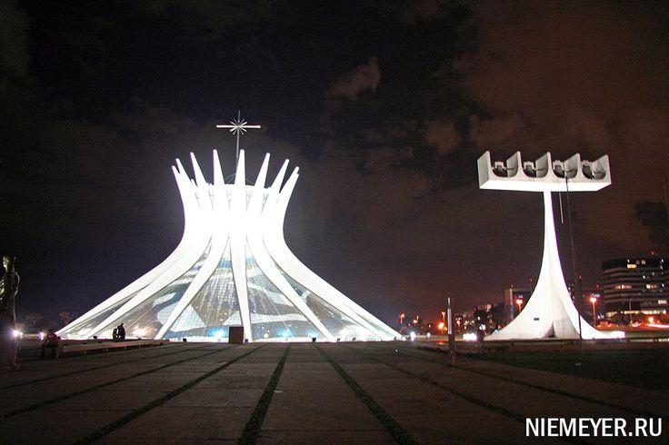Оскар Нимейер, Кафедральный собор города Бразилиа. Бразилиа, Бразилия. (1960-1970 гг.)