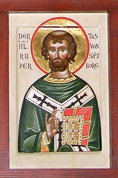 St. Rupert or St. Robert of Salzburg