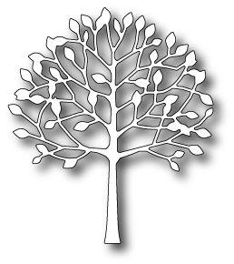MEMORY BOX DIES - ARBOSCELLO TREE (98155) 3.2 x 3.7 inches