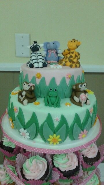 Zoo Animal toppers by Jamie