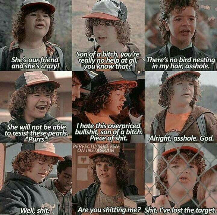 The Sweet Words of Dustin from STRANGER THINGS!