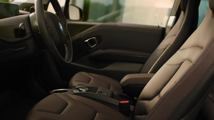 An interior crafted with the finest materials, both innovative and sustainable.  Introducing the new BMW i3 and i3s.