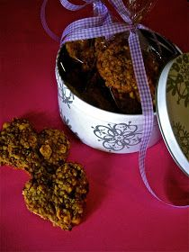 cookies with oatmeal and honey