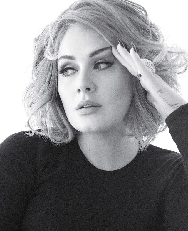 """[Adele] creates songs that go deep and expose pain and vulnerability with her soulful voice. She takes you places other artists don't go to anymore."" @Beyonce Happy birthday to 15-time Grammy winner @Adele. Photograph by @tommunrostudio.  via VANITY FAIR MAGAZINE OFFICIAL INSTAGRAM - Celebrity  Fashion  Politics  Advertising  Culture  Beauty  Editorial Photography  Magazine Covers  Supermodels  Runway Models"