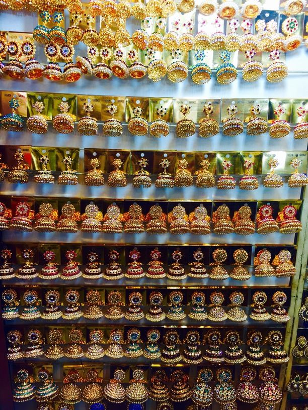 Fashion jewellery Sungold Covering, Chennai, India — by Shoba Krishnamurthy. Pondy bazar the quintessential place to shop for anything and everything in Chennai! Clothes, housewares, cosmetic...