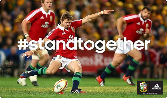 Adidas Lions #standtogether #BritishandIrishLions #rugby