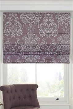Image result for purple plum roman blinds