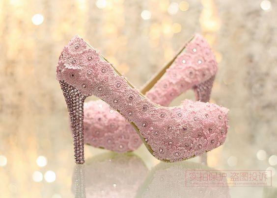 Sapato rosa  para debutante, clique na imagem para saber mais