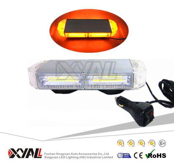 60W COB police car/ambulance/fire truck strobe menory flashing waterproof emergency warning LED led light bar