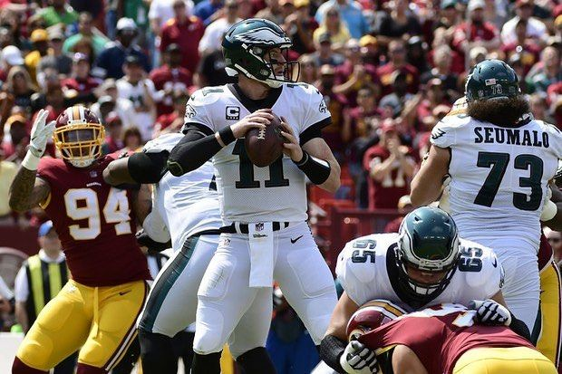 Its game day Philly! Our Eagles will host the division rival Redskins tonight on Monday Night Football with a chance to improve to 6-1 and take a commanding 3-0 record in the NFC East! Make sure you tune into our Instagram story tonight beginning at 7 PM as we give predictions analysis and reactions throughout the night! We think the Eagles will continue to fly high an take care of business at home but what do you think?! Leave us a score prediction below and if youre right well shout you…
