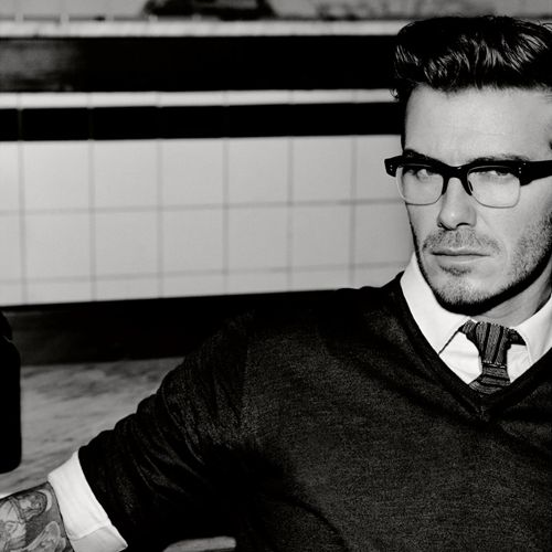 david beckham Black and White portrait Men Photography