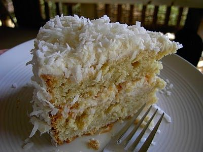 Vegan Thyme: Vegan Coconut Cake with Coconut Buttercream Frosting (For The Fall Equinox . . . Or for The Heck of It)