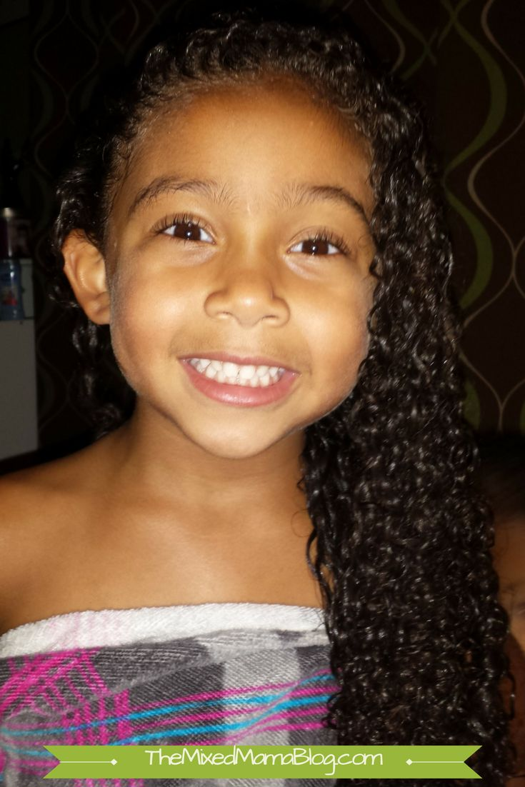 Cheat Sheet for Mixed Kid Hair Care - The Basics