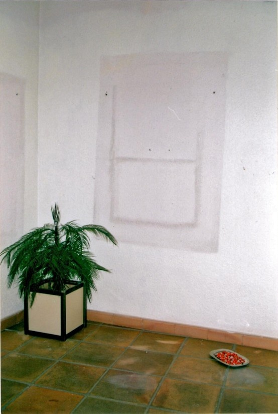 Spaces with a Past, installation by Rikke Hostrup - Museo di Arte Contemporanea Castello (ES) 2003