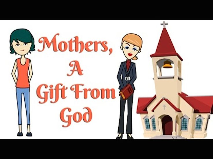 Mother's Church Ministry Clip Art