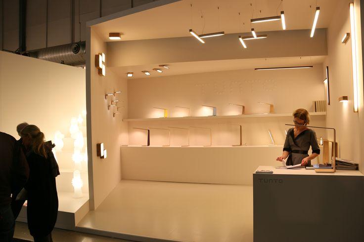 Tunto booth in Stockholm furniture fair 2014