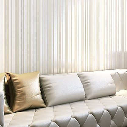 europese glitter geweven wallpapers rol verticale strepen massaal behang voor de woonkamer slaapkamer sofa tv