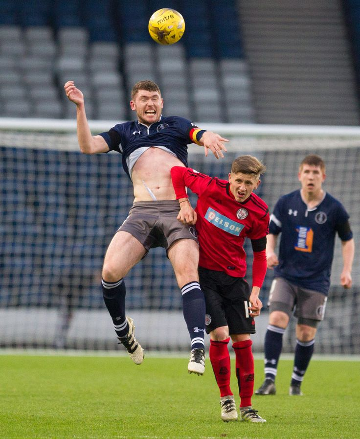 Queen's Park's Ryan McGeever in action during the Ladbrokes League One game between Queen's Park and Brechin City