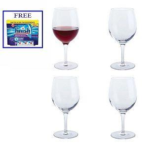 Dartington Shine On Red Wine Glasses Set of 4