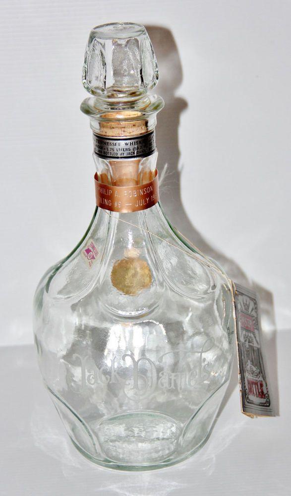 Vintage 1980 Jack Daniels The Belle Of Lincoln Collectors